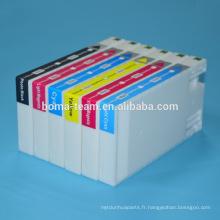 D700 6 couleurs Cartouche d'encre compatible pour les cartouches d'encre epson imprimante d700 pour epson