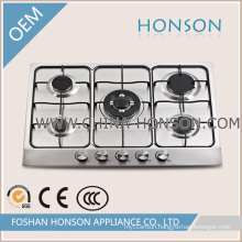 Good Quality with Big Burners Enamel Gas Hob Gas Cooktop