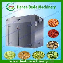 China CE genehmigt elektrische Heißluft industrielle Frucht Dörrgerät Maschine mit Tabletts und Wagen 008613253417552