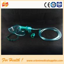 Homecare simples portátil oxigênio máscara facial