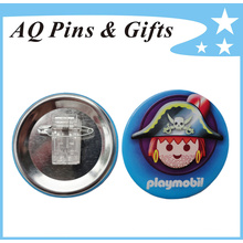 Customized Kids Tin Plate Button Badge (button badge-54)