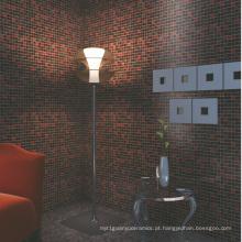 Telha de mosaico de vidro para materiais de construção decorativos