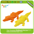 Red Rhino Shaped Eraser,Group animal shape stationery