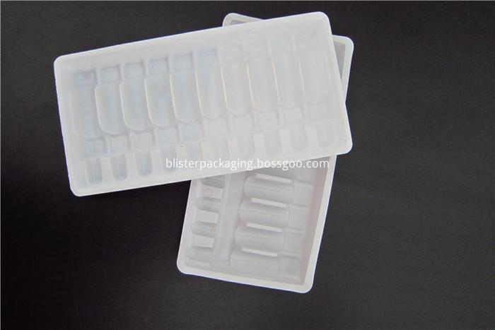 Thermoforming PVC Vials Tray