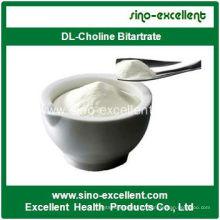 Bitartrate Dl-Choline de haute qualité CAS 14307-43-8