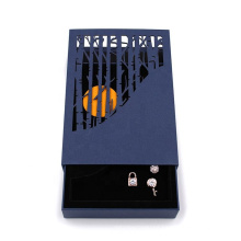 Custom Logo Premium Eco Friendly Rigid Paperboard Drawer Gift Box for Jewelry Storage Packaging