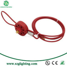 CE Approval: GL-L031 High Quality Universal wheel Cable Lockout
