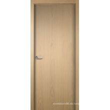 Varias puertas de chapa, puerta de chapa de madera rústica de entrada