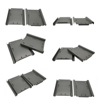 Placa base metálica para armario eléctrico