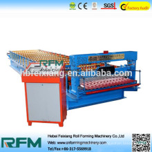 FX corrugated zinc roofing step tile cold rolling machinery