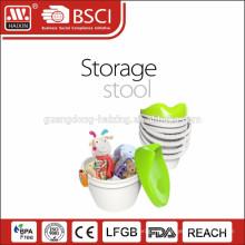 2015 novo design banco de armazenamento de plástico