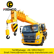 Foton Chassis 16 Ton Tire Truck Cranes