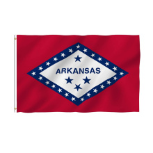 Nuevo diseño Breeze Arkansas State Polyester Flag
