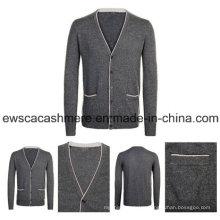 Men′s Pure Cashmere Knitwear A16m-001gw