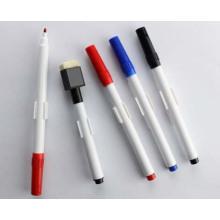 Marcador de quadro branco simples com escova
