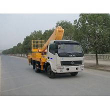 service cherry picker truck mounted telescopic crane