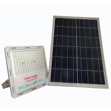 Explosion-proof remote control IP65 waterproof good quality solar penal led flood light 100w