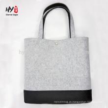 logotipo de alta qualidade personalizado sentiu impressão do saco