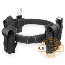 1000D Waterproof Nylon with Pouches Tactical Belt for security outdoor sports hunting