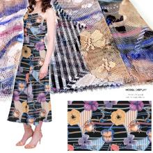 Mesh-Spitze gedruckte Kleidungsstück / Home Textil / Kleid Stoff