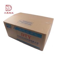 Diferentes tipos de papel embalagem grande caixa de papelão para transporte