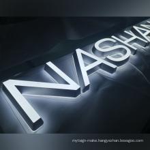 High quality Custom  Frontlit led name board design light letters led sign