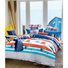 Carton Baby Bedding Set Boy Bedding Set with Duvet Cover and Bed Sheet