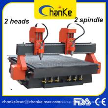Ck1325 / 1218 Carpintaria máquina CNC roteador para móveis de gabinete