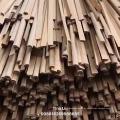 Recon moldar madeira de madeira triangular moldagem de madeira