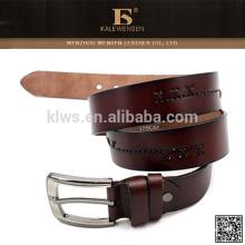 Cinturones genuinos genuinos del cuero genuino del zurriago del hombre 100% para las mujeres