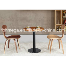 Bentwood Beauty Chair Furniture Round Cafe Table Set (FOH-BCA23)