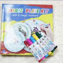 Маркер для окраски фарфора кружку или тарелку