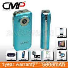 colorable Rechargeable battery Power Bank 5V/1A For Travel Outdoor Us