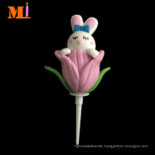 Stable Quality Cake Decoration Handmade Cute Easter Bunny Polymer Clay
