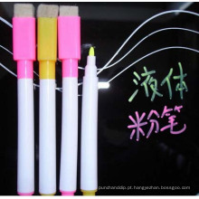 Marcador de giz colorido para placa LED