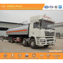 SHACMAN 8X4 30000L aluminium oil carrier truck