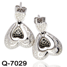 Latest Styles Earrings 925 Silver Jewelry (Q-7029)