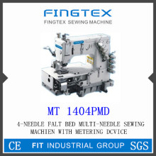 4-needle Flat Bed Multi-needle Sewing Machine With Metering Device