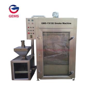 Máquina automática de cozimento, secagem e fervura para salsichas