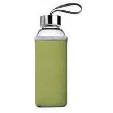 550ml glass water bottle, glass bottle, glass tea cup, tea filter bottle