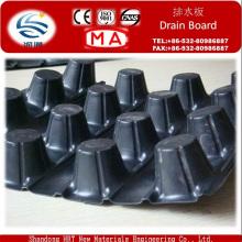 Tablero de drenado compuesto del dren del HDPE para la construcción