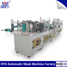 Automatic fold mask machine