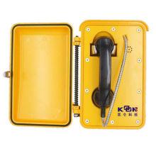 Открытый SOS Телефон Водонепроницаемый Телефон Автодозвон прочный Телефон IP телефон с поддержкой PoE