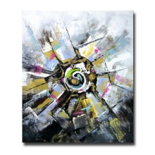 Original Created Abstract Oil Painting