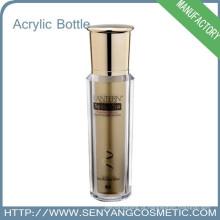 Frasco de creme cosmético Embalagem colorida de luxo Atacado garrafa de acrílico