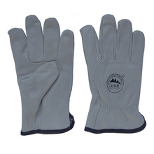 Водительские перчатки из козьего зерна