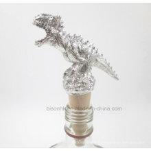 Nouveau bouchon de bouteille de vin, bouchon de bouchon de dinosaure