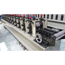 Fully Automatic Ce & ISO Certificated 3 Inc Shutter Door Guide Rail Roll Forming Machine