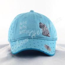 Chapeau pour enfants imprimé en fleurs avec animal