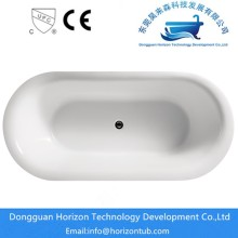 Featheredge acrylic freestanding bathtub